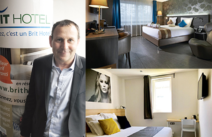 Guy Gérault/Brit Airport Club Hotel Bâle-Mulhouse/Brit Hotel Martigues. DR/© Brit Hotel