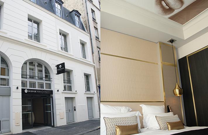 Niepce Paris Hotel © C. Vienne