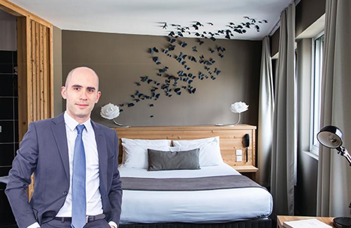 Stéphane Radi, directeur de Contact Hôtel à Gap