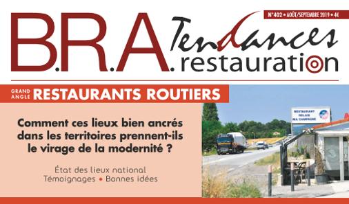 Les Restaurants Routiers font l'objet du GRAND ANGLE de B.R.A. n°402.