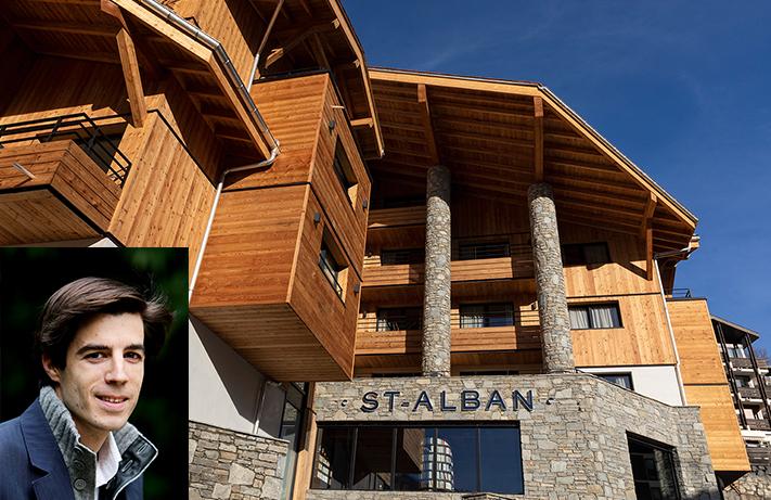 Romain Trollet (DR) et L'hôtel St-Alban Hotel & Spa © Assas Hotels