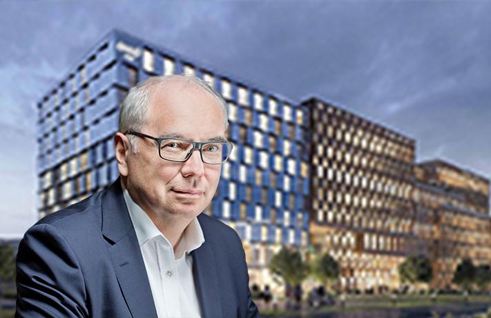 Directeur général adjoint pôle hôtellerie de Vinci Immobilier et Futur Hôtel Okko à Nanterre / © Vinci Immobilier