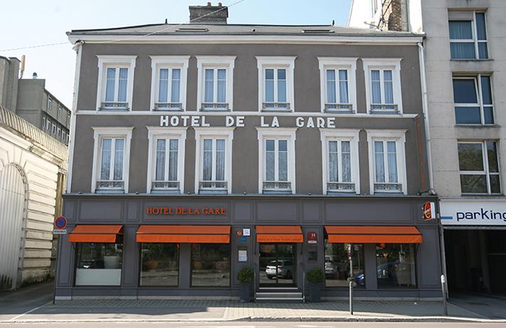 L'Hôtel de la Gare à Troyes accueille le personnel soignant du centre hospitalier depuis le 17mars Photos © Hôtel de la Gare
