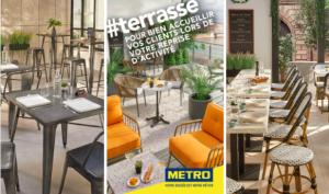 Aménagez votre terrasse avec METRO